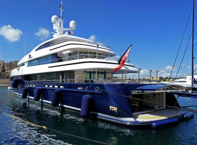 Yacht superyacht Cloud Luxury boat ship wallpaper