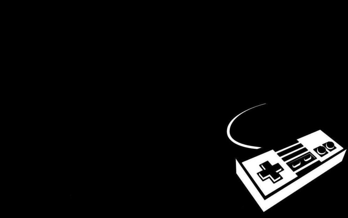 Nintendo gamepad controllers wallpaper