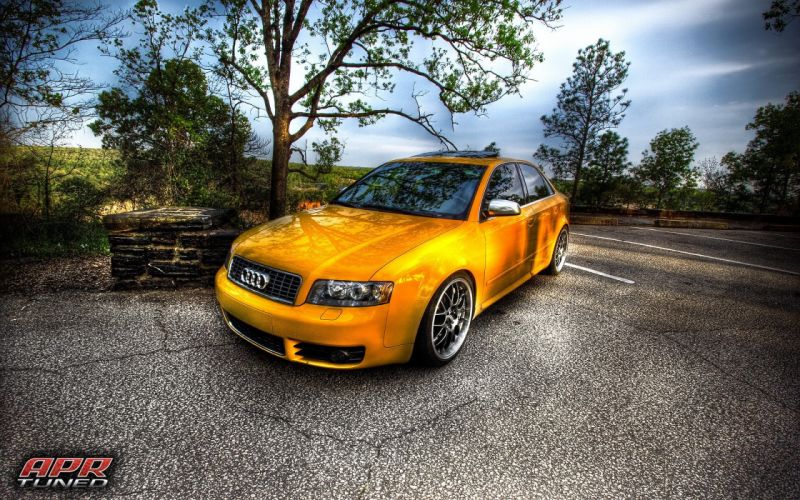 Audi HDR photography sports cars wallpaper