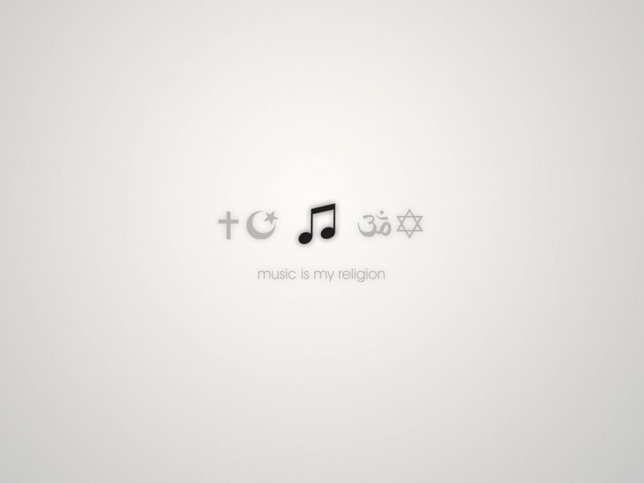 Music quotes religion white background wallpaper | 1440x1080 ...