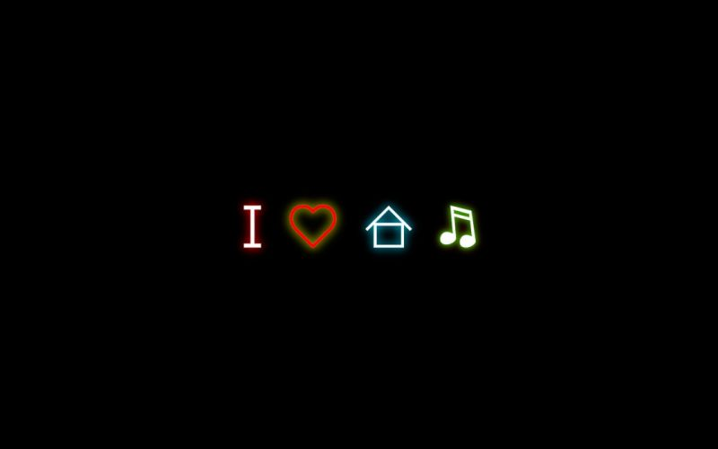 love music house music wallpaper