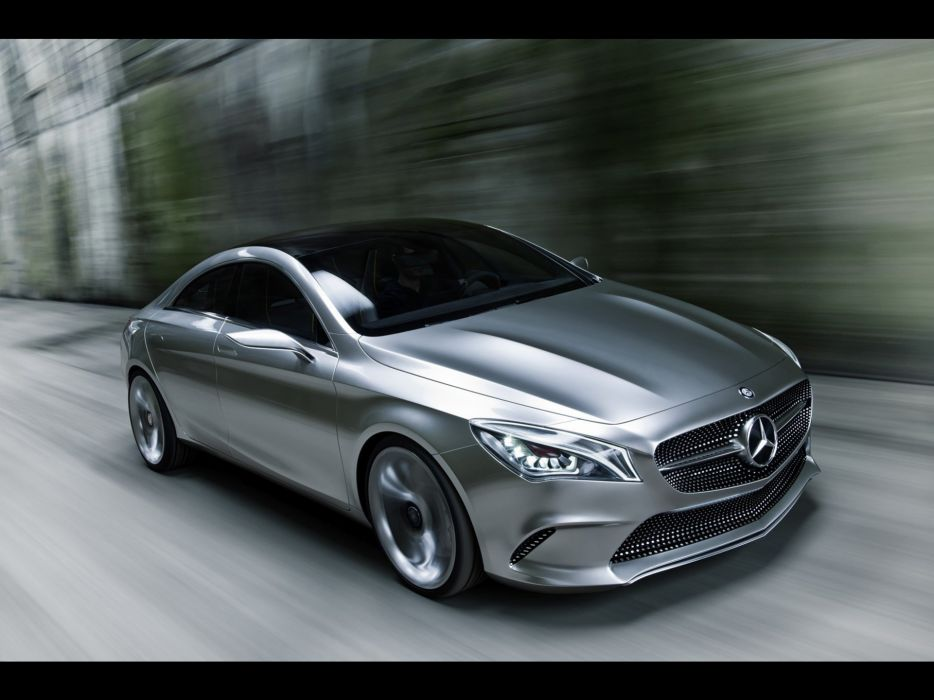 cars concept cars Motion Mercedes-Benz Style Coupe wallpaper