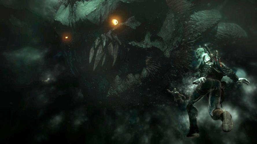 monsters God of War Kratos wallpaper