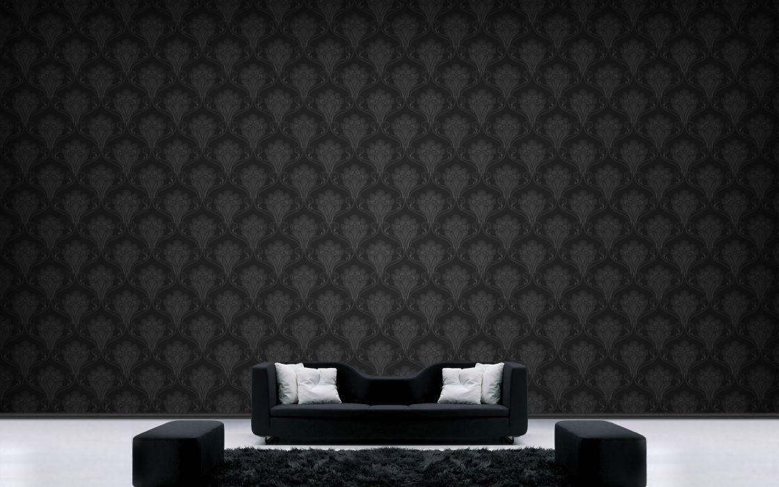 couch patterns interior wallpaper