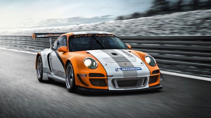 Porsche Hybrid gt3 wallpaper