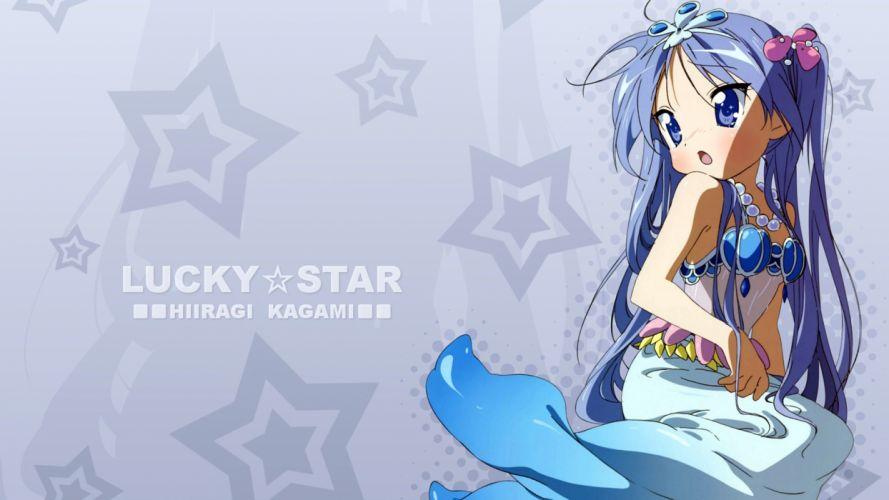 Lucky Star Hiiragi Kagami wallpaper