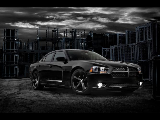 muscle cars front Dodge Charger wallpaper