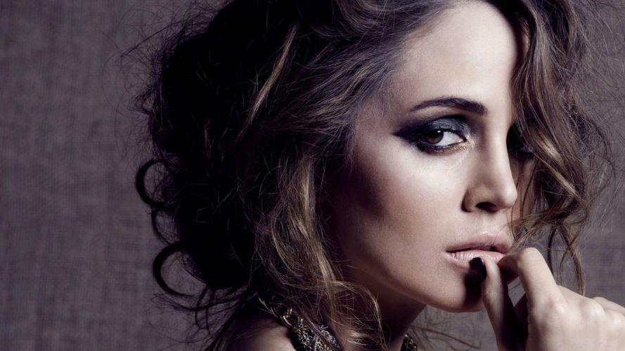 women models Eliza Dushku wallpaper