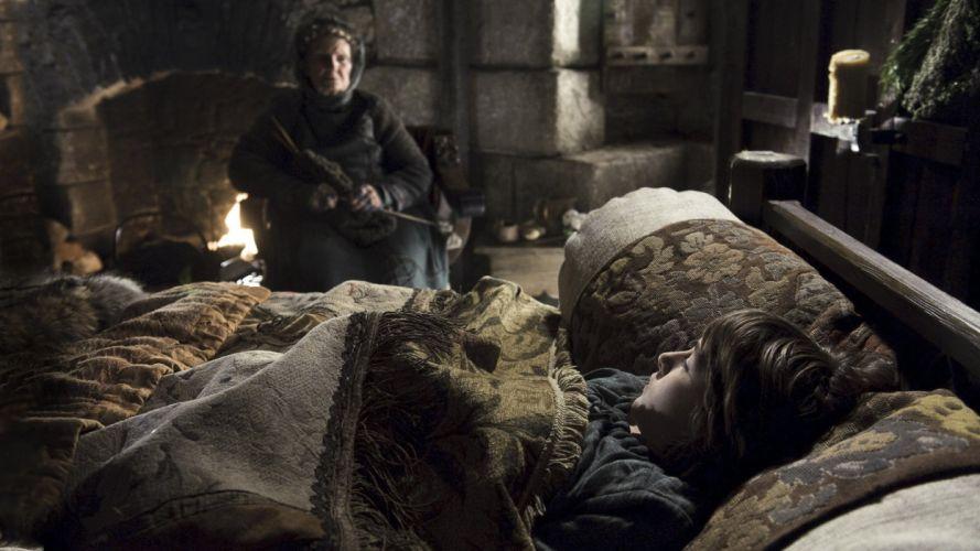 Game of Thrones TV series Old Nan Brandon Stark House Stark wallpaper