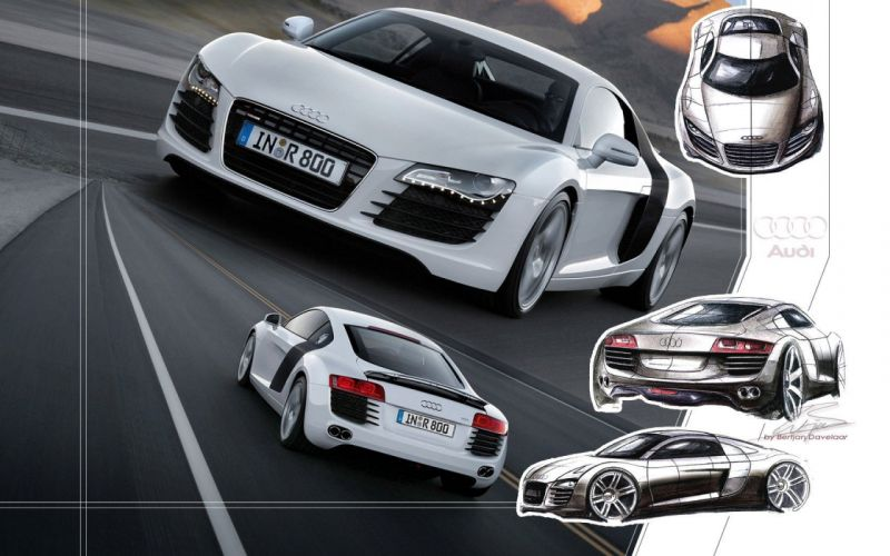 cars Audi vehicles Audi R8 Audi R8 V8 German cars wallpaper