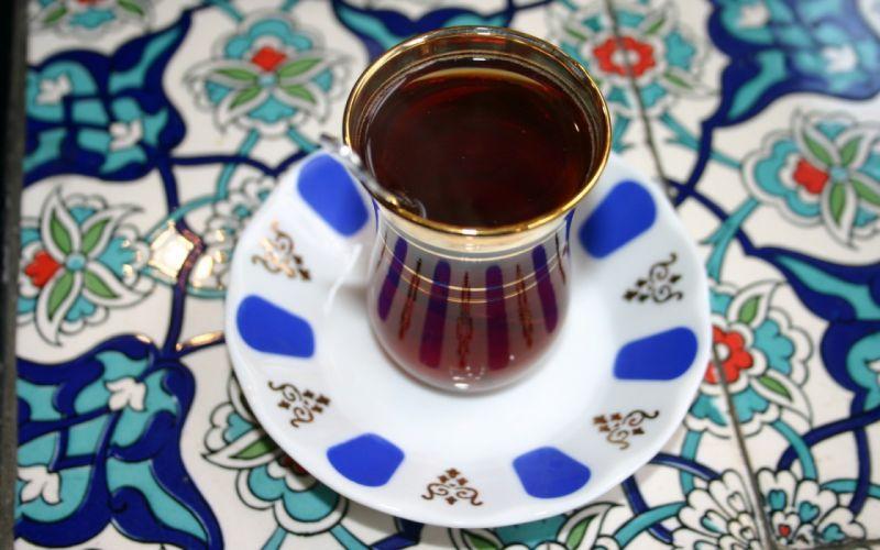 tea glass Turkish AIA wallpaper