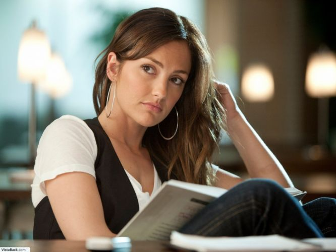 brunettes women models teen reading Minka Kelly faces blue jeans wallpaper