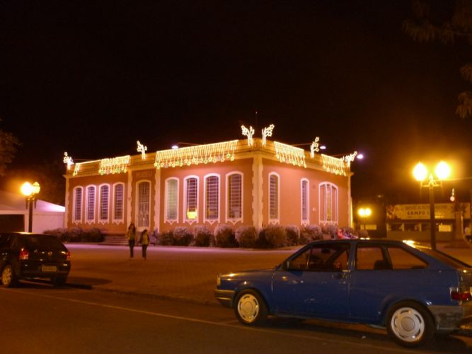 night cars Christmas Brazil museum old cars lighting Campo Largo ParanAIAA wallpaper