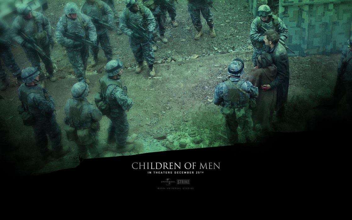 war movies Children of Men wallpaper