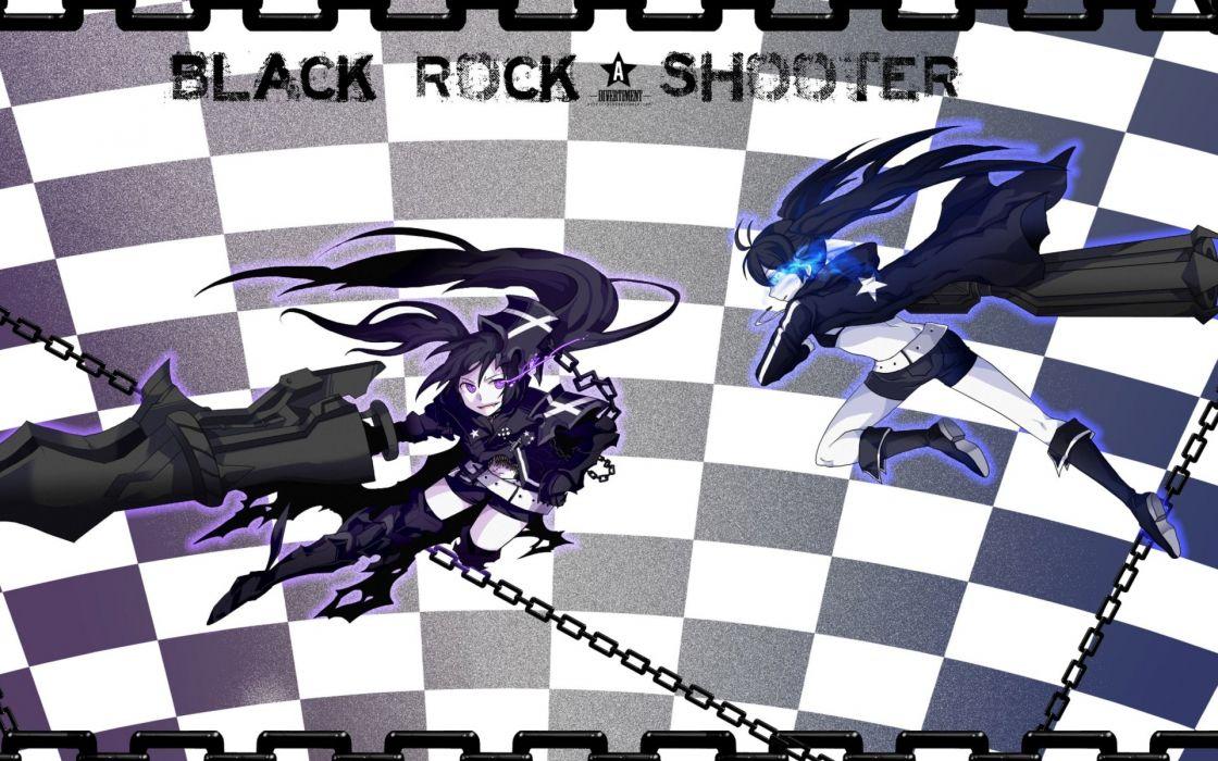 Black Rock Shooter Insane Black Rock Shooter wallpaper