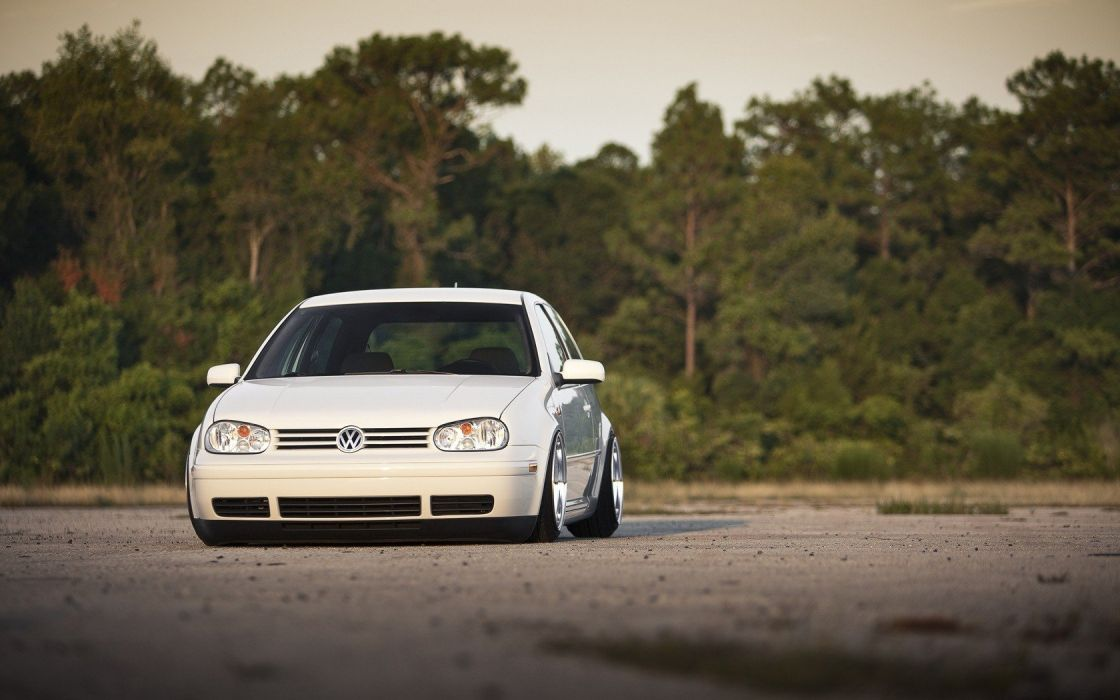 cars tuning Volkswagen Golf IV wallpaper