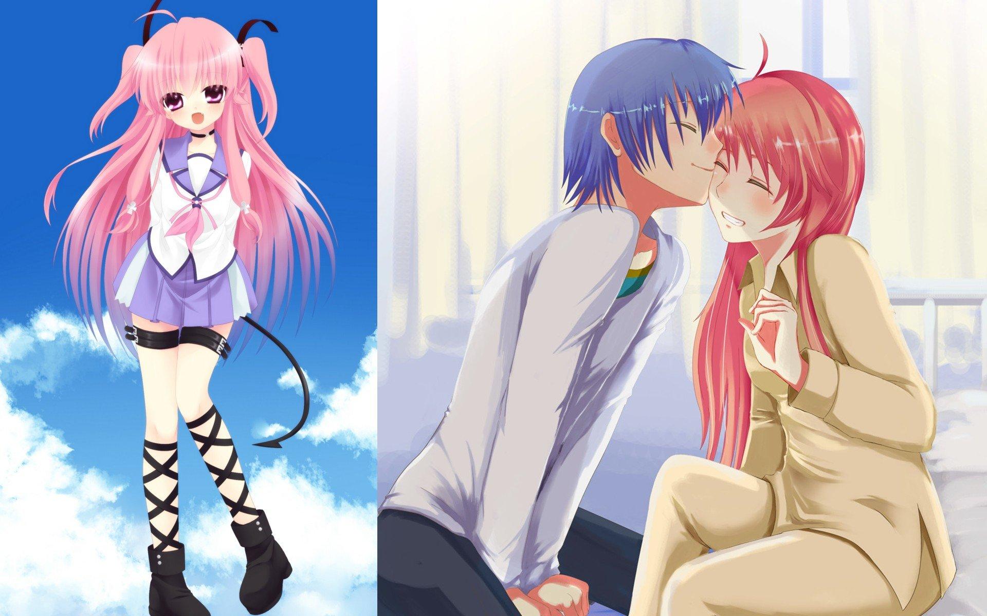 Yui And Hinata Angel Beats Angel Beats! Yu...