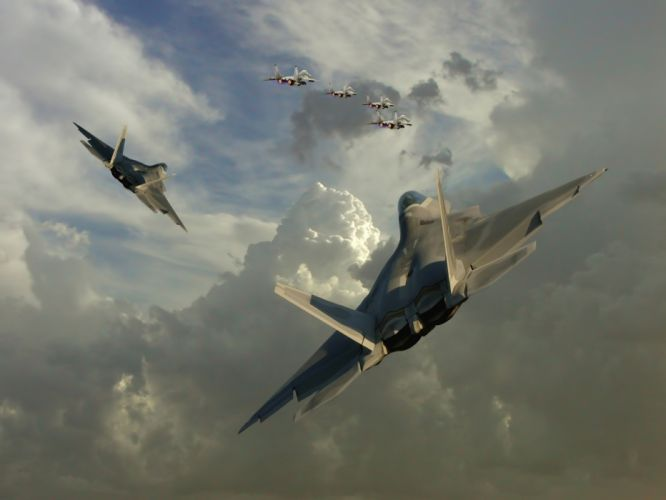 jet aircraft skyscapes wallpaper