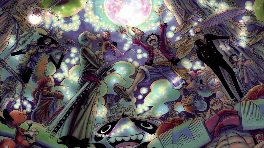 One Piece (anime) Roronoa Zoro Tony Tony Chopper Monkey D Luffy Nami (One Piece) Sanji (One Piece) nami wallpaper