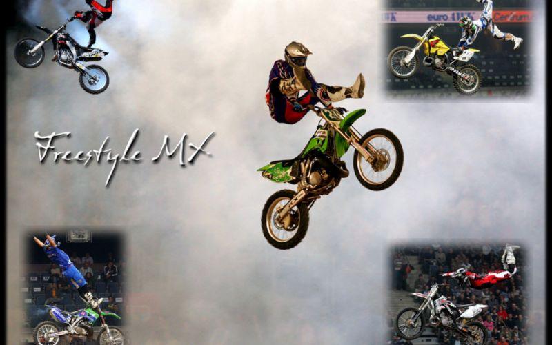 freestyle dirtbike motocross moto bike extreme motorbike dirt poster wallpaper
