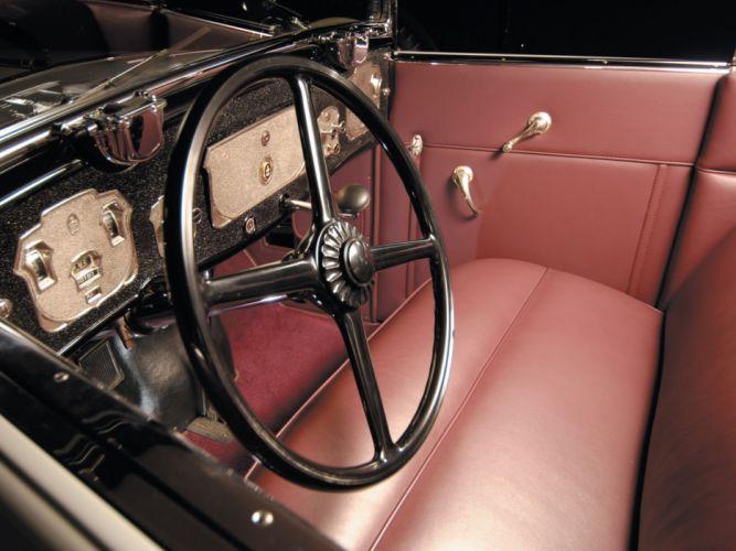 1929-32 Cord L-29 Phaeton Sedan luxury retro interior d wallpaper