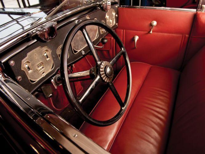 1929-32 Cord L-29 Phaeton Sedan luxury retro interior f wallpaper