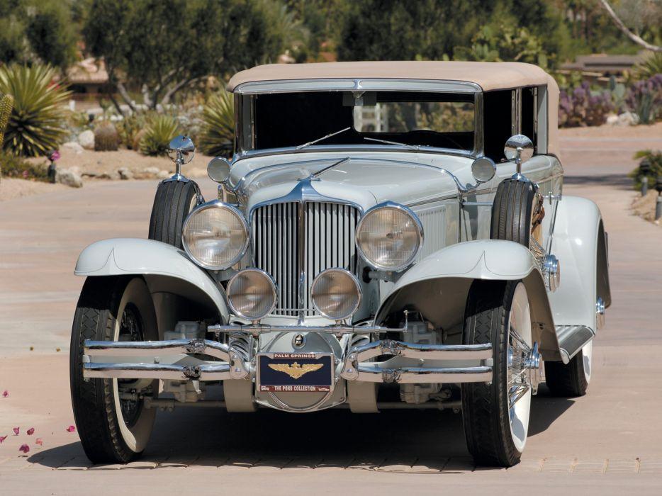 1929-32 Cord L-29 Phaeton Sedan luxury retro v wallpaper