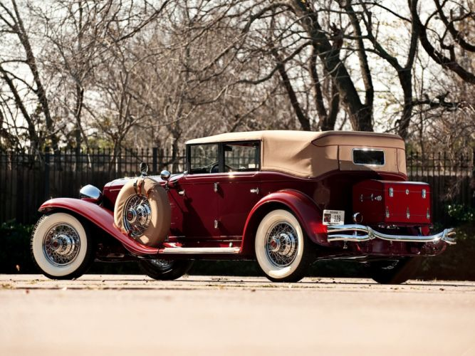 1929-32 Cord L-29 Phaeton Sedan luxury retro f wallpaper