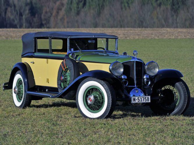 1929-32 Cord L-29 Phaeton Sedan luxury retro fv wallpaper
