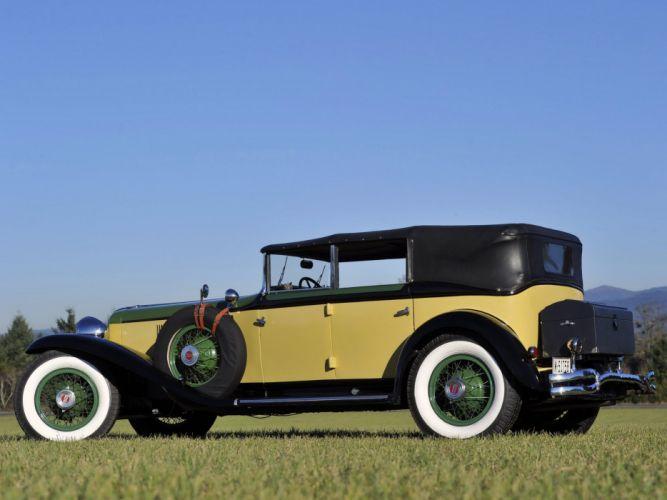 1929-32 Cord L-29 Phaeton Sedan luxury retro fs wallpaper