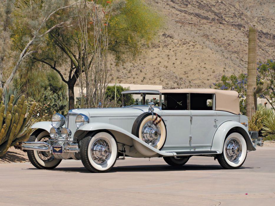 1929-32 Cord L-29 Phaeton Sedan luxury retro  d wallpaper