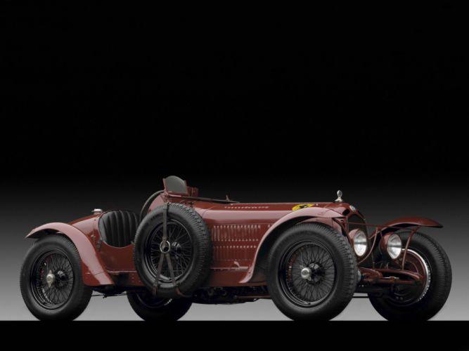 1931-33 Alfa Romeo 8-C 2300 Monza retro race racing wheel f wallpaper