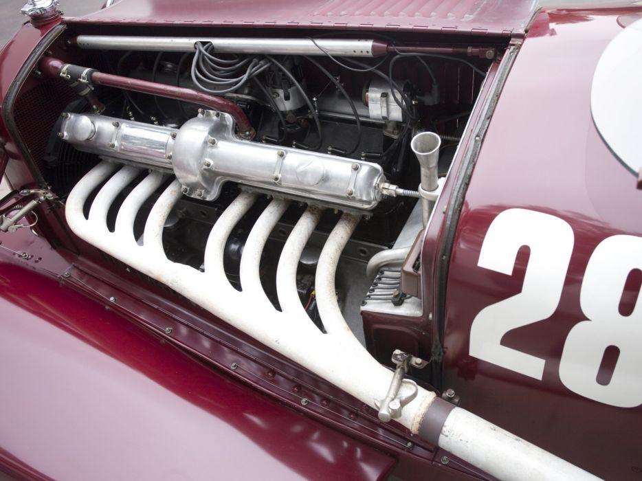 1931-33 Alfa Romeo 8-C 2300 Monza retro race racing engine    f wallpaper