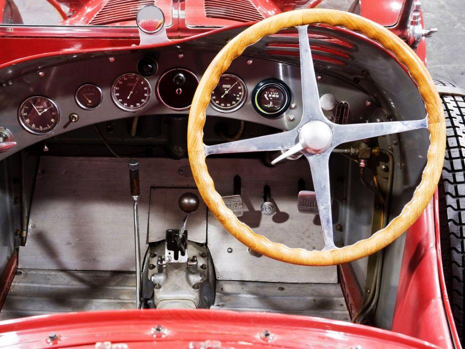 1931-33 Alfa Romeo 8-C 2300 Monza retro race racing interior     f wallpaper