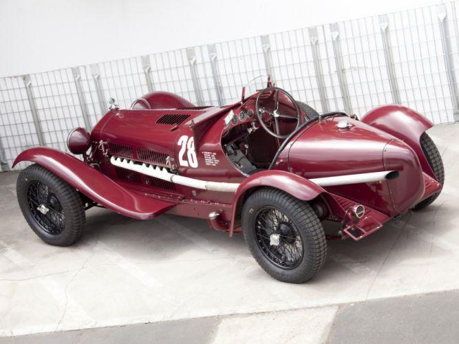 1931-33 Alfa Romeo 8-C 2300 Monza retro race racing e wallpaper