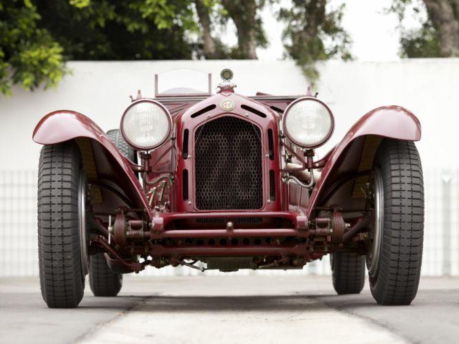 1931-33 Alfa Romeo 8-C 2300 Monza retro race racing gs wallpaper