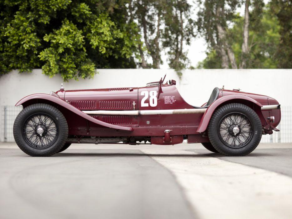 1931-33 Alfa Romeo 8-C 2300 Monza retro race racing  g wallpaper