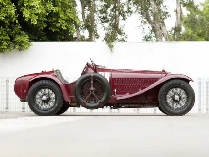 1931-33 Alfa Romeo 8-C 2300 Monza retro race racing f wallpaper