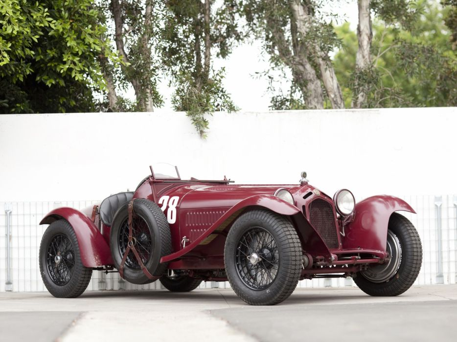 1931-33 Alfa Romeo 8-C 2300 Monza retro race racing   g wallpaper