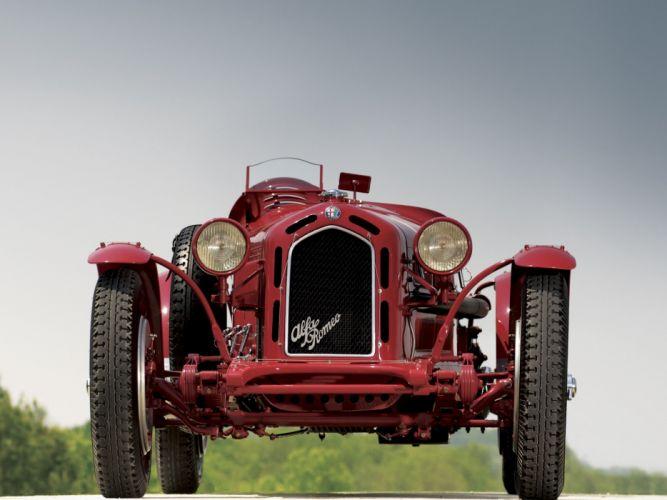 1931-33 Alfa Romeo 8-C 2300 Monza retro race racing f wallpaper