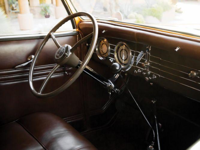 1935 Lincoln Model-K Convertible Roadster LeBaron (542) luxury retro interior g wallpaper