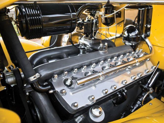 1935 Lincoln Model-K Convertible Roadster LeBaron (542) luxury retro engine g wallpaper