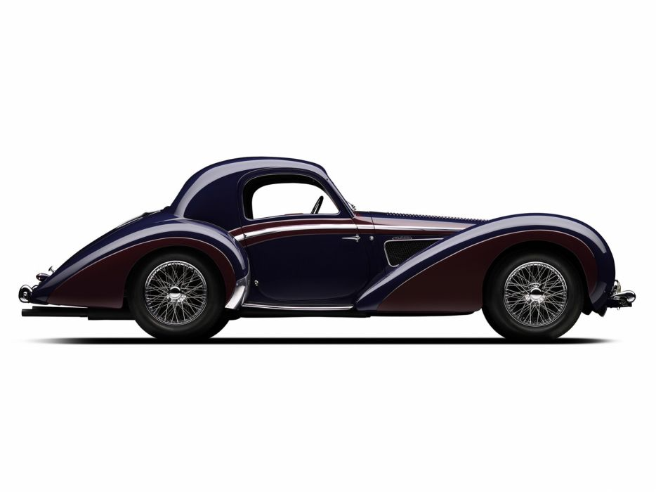 1937 Delahaye 145 Coupe Chapron retro  f wallpaper