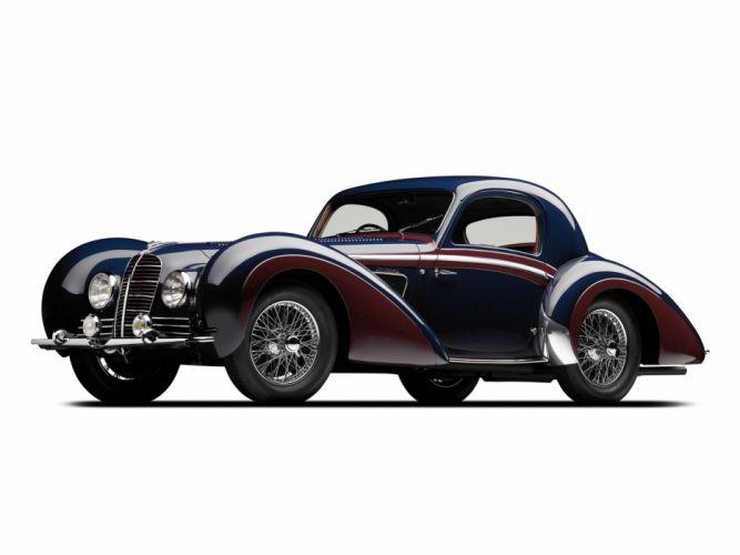 1937 Delahaye 145 Coupe Chapron retro e wallpaper