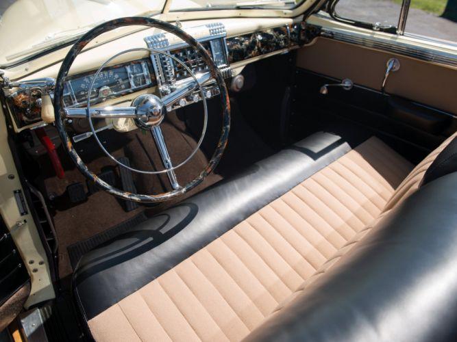 1948 Chrysler Town Country Convertible retro interior g wallpaper