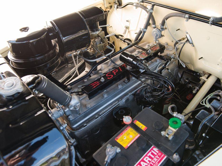 1948 Chrysler Town Country Convertible retro engine    g wallpaper