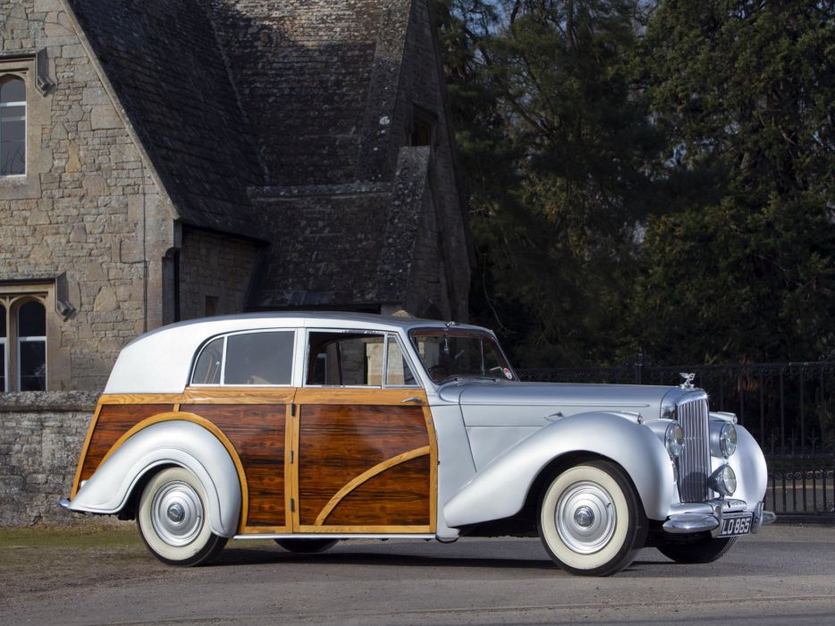 1950 Bentley Mark-VI Countryman Radford luxury retro      f wallpaper