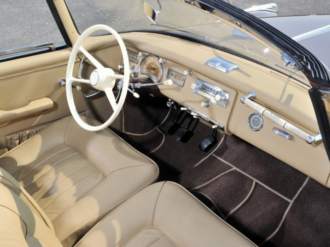 1959 BMW 502 Cabrio Autenrieth retro interior g wallpaper