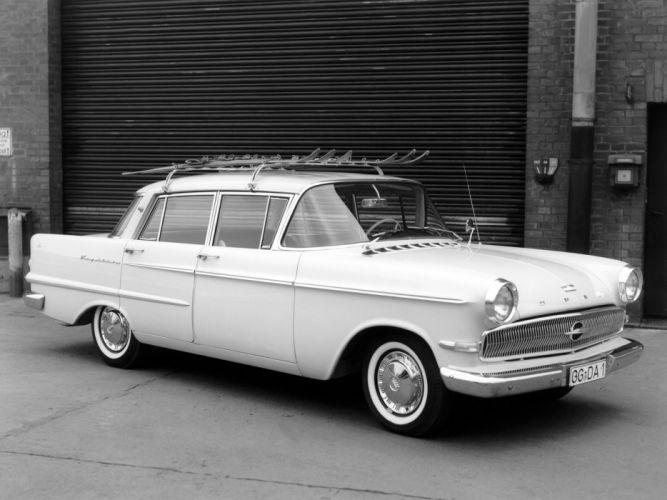 1959-64 Opel Kapitan (P-2) retro classic h wallpaper