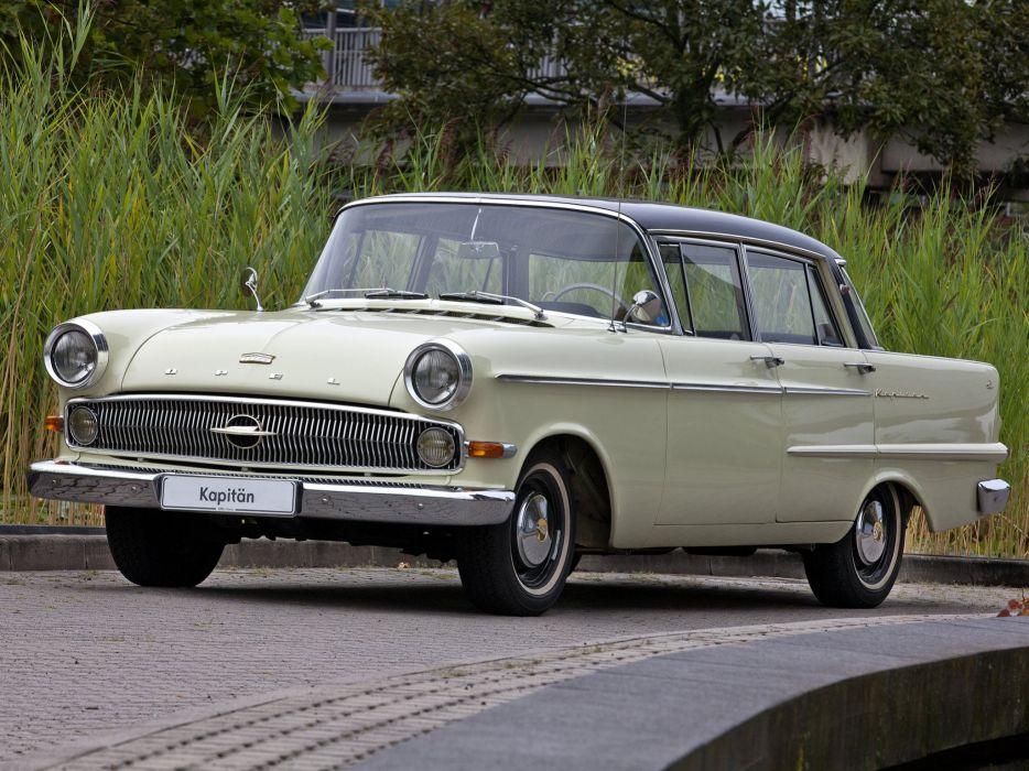 1959-64 Opel Kapitan (P-2) retro classic  hj wallpaper